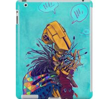 guardian of songbirds iPad Case/Skin