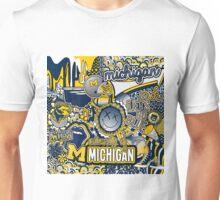 Michigan Collage Unisex T-Shirt