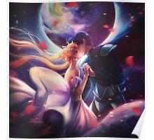 Moon kiss Poster