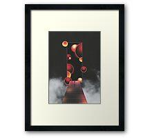 Void Vibes Only Framed Print