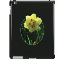Yellow Double Daffodil iPad Case/Skin