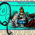 Alice in Wonderland and Through the Looking Glass Alphabet Q by Samitha Hess Edwards