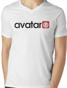 Avatar: Bending Wear Mens V-Neck T-Shirt