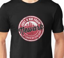 JUST A KID FROM NEWARK IT'S WHERE MY STORY BEGINS Unisex T-Shirt