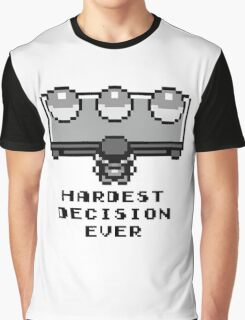 Pokemon - Hardest decision ever Graphic T-Shirt