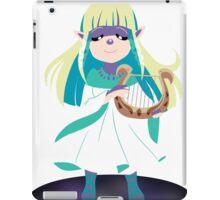 Skyward Sword Zelda (alternate coloring) iPad Case/Skin