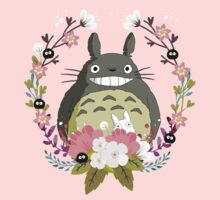 Totoro and the Spring Kids Tee