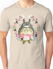 Totoro and the Spring Unisex T-Shirt