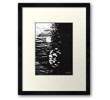 Yin Yang Darkness and Light Framed Print