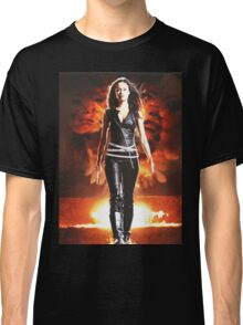 Summer Glau - BADASS WOMEN Classic T-Shirt