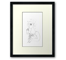 Space lungs. Framed Print