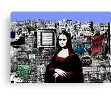 Mona Canvas Print