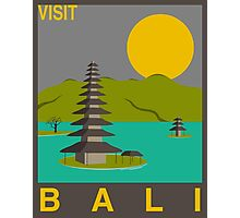 Visit Bali - Dark Photographic Print