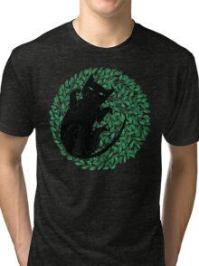 Summer cat Tri-blend T-Shirt