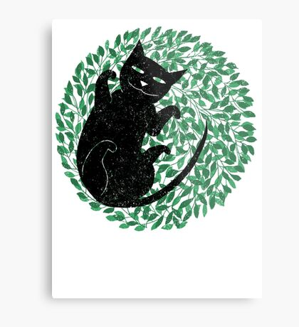 Summer cat Metal Print