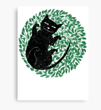 Summer cat Canvas Print