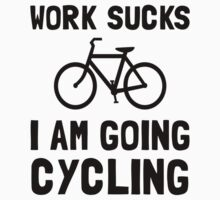 Work Sucks Cycling One Piece - Short Sleeve