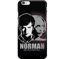 Norma-Norman Bates Motel iPhone Case/Skin
