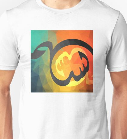 Arabic Calligraphy art abstract Unisex T-Shirt