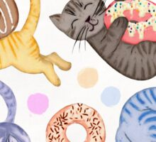 Sprinkles on Donuts and Whiskers on Kittens Sticker