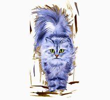 Silver Persian Cat Unisex T-Shirt