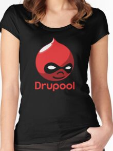 Drupool Women's Fitted Scoop T-Shirt