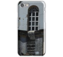Stairs Next to a Church Window iPhone Case/Skin