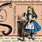 Alice in Wonderland and Through the Looking Glass Alphabet S by Samitha Hess Edwards