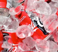 Coca Cola on Ice Sticker