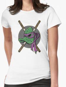 MUTANT NINJA DUCKS Womens Fitted T-Shirt