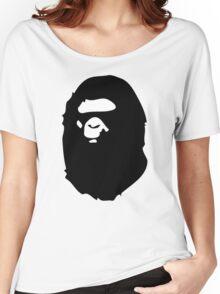 Bape Black Women's Relaxed Fit T-Shirt
