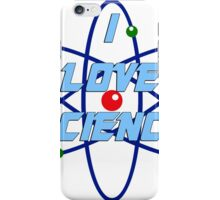 I Love Science iPhone Case/Skin