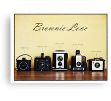 Brownie Love Canvas Print