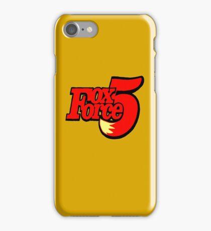 FOX FORCE 5 iPhone Case/Skin