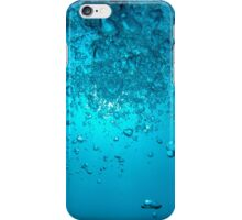 Underwater bubbles rise up towards the sun iPhone Case/Skin