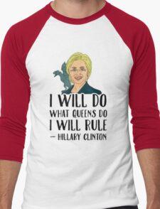 Hillary khaleesi Men's Baseball ¾ T-Shirt