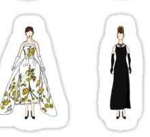 Outfits of Audrey Fashion Sticker