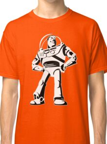 Buzz Lightyear Black and White Vector Classic T-Shirt