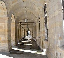Passageway, Santiago de Compostela, Spain by Stephen Frost