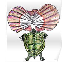 Turtle Muscle - Inspired by Silvio Donnini_rip Poster