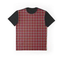 "The ""I Love Waffles"" Windowpane Tartan (Oversized) Graphic T-Shirt"