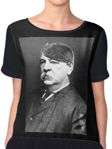 Super Grover Cleveland Chiffon Top