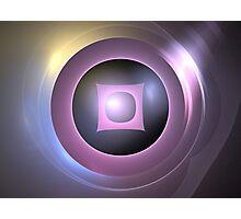 Cosmic Lens Photographic Print