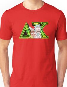 Rick and Morty Delta Chi Unisex T-Shirt
