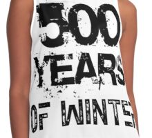 500 YEARS OF WINTER Contrast Tank