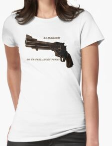 44 Magnum Womens Fitted T-Shirt