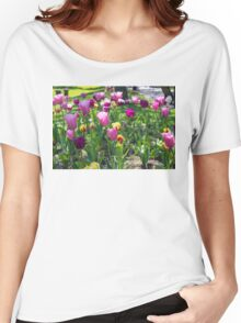 Tulips Park Gardens Women's Relaxed Fit T-Shirt