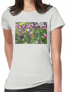 Tulips Park Gardens Womens Fitted T-Shirt