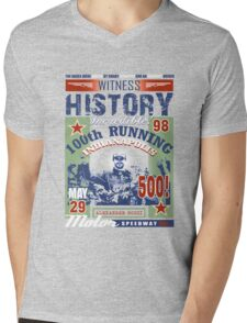indy 500 yes! Mens V-Neck T-Shirt