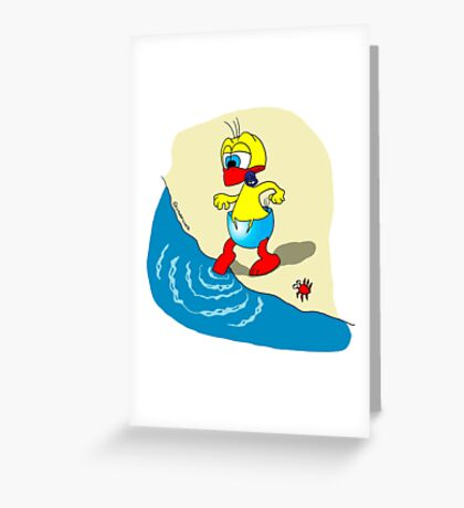 "Rick the chick ""SUMMER DAYS 2"" Greeting Card"